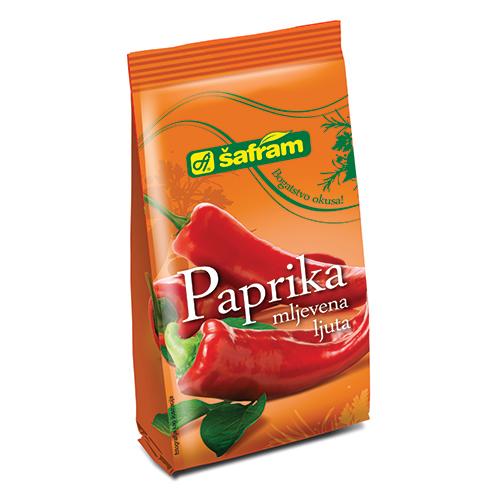 Ground hot paprika
