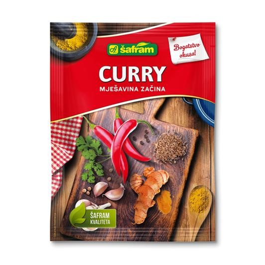 Curry blend of spices
