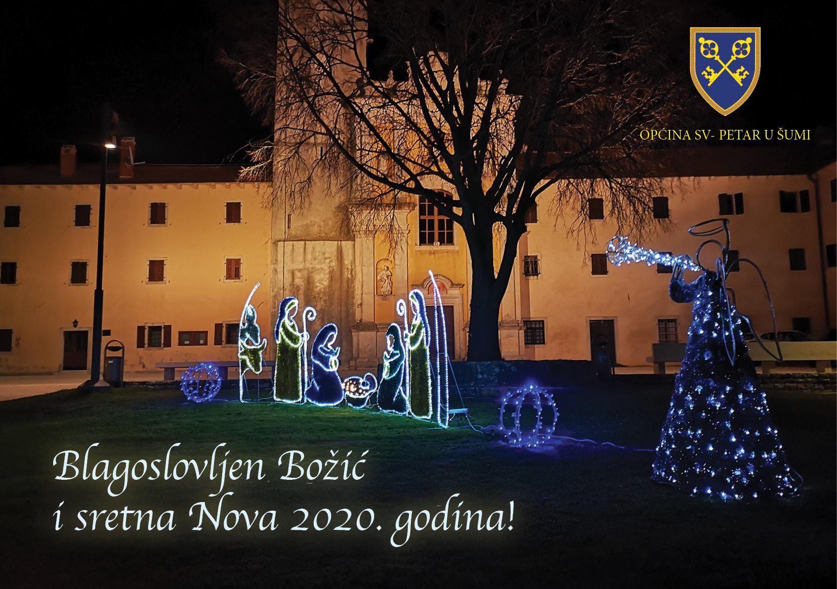 BLAGOSLOVLJEN BOŽIĆ I SRETNA NOVA 2020. GODINA!