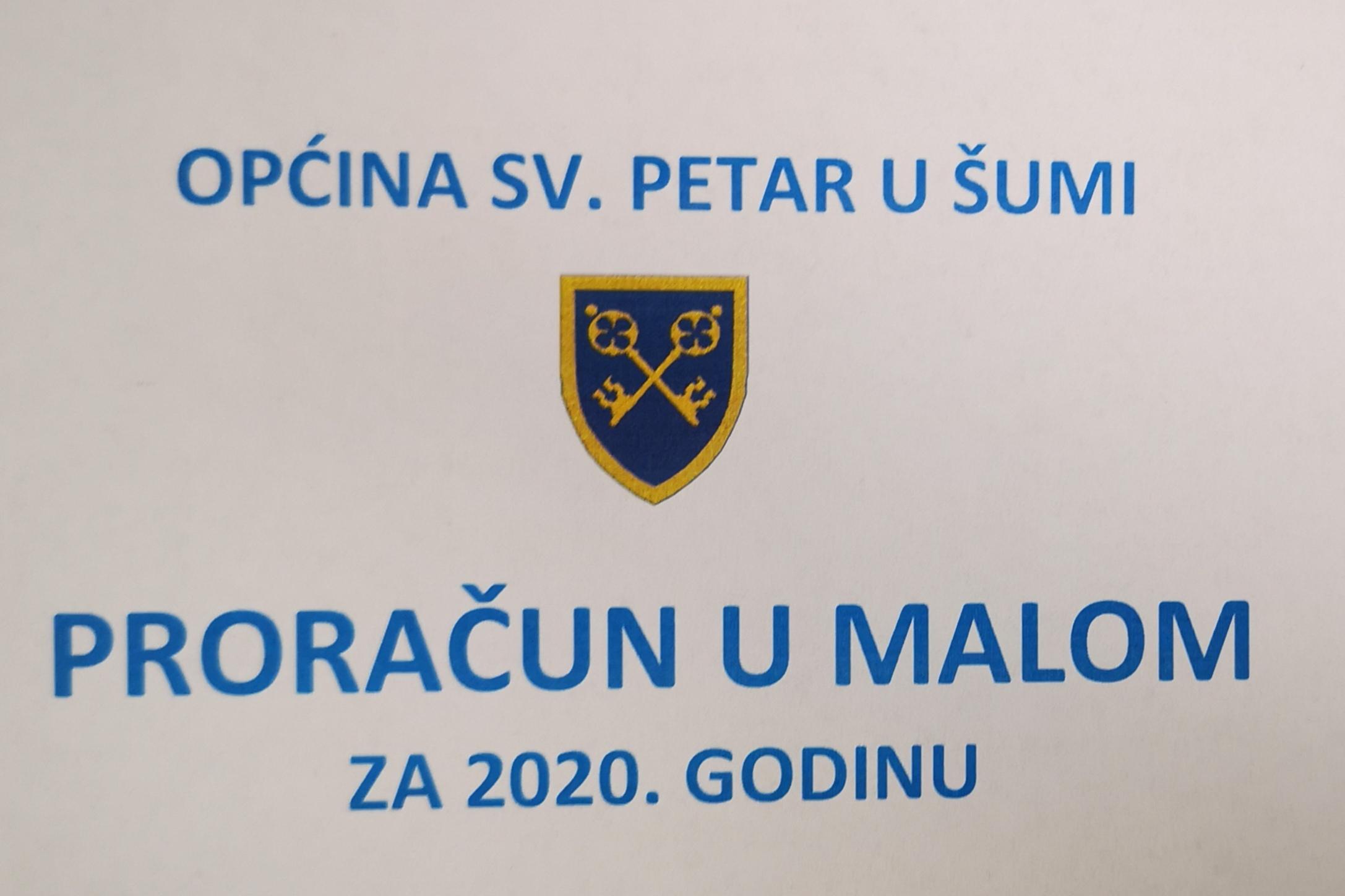 PRORAČUN U MALOM ZA 2020.