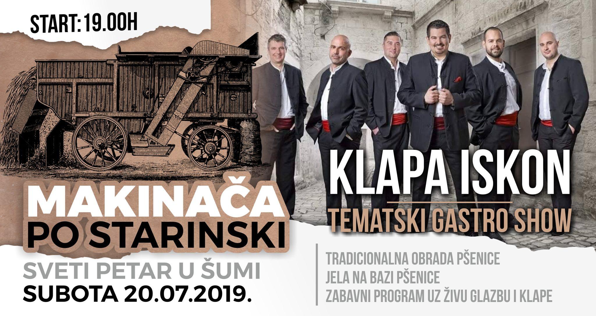 MAKINAČA PO STARINSKI 2019.