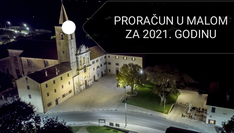 PRORAČUN U MALOM ZA 2021.
