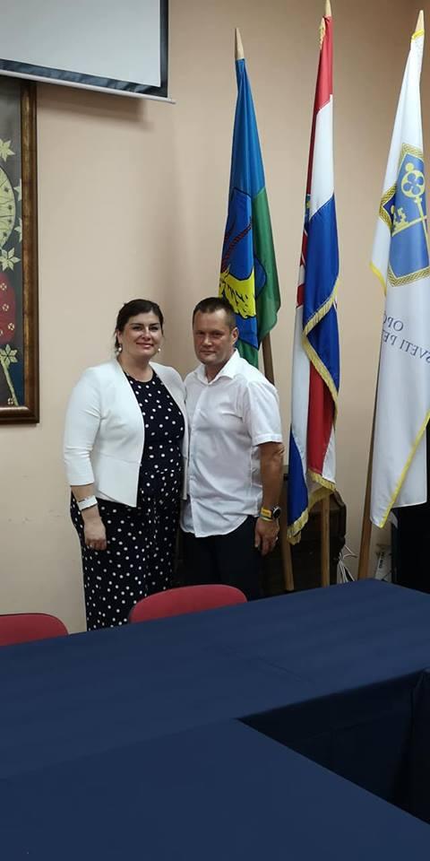 Ministrica Gabrijela Žalac u općini Sv. Petar u Šumi